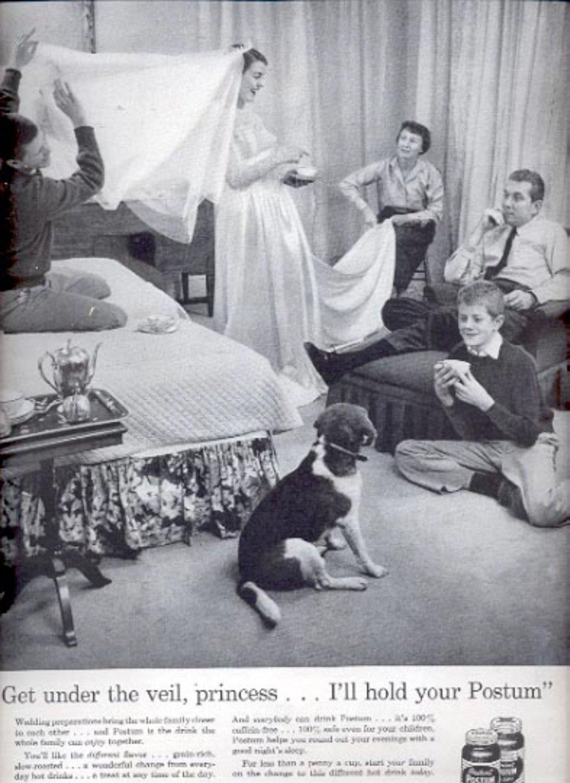1957  Instant Postum beverage  ad (# 4941)