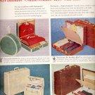 Dec. 13, 1955 Streamlite Samsonite luggage ad (# 823)