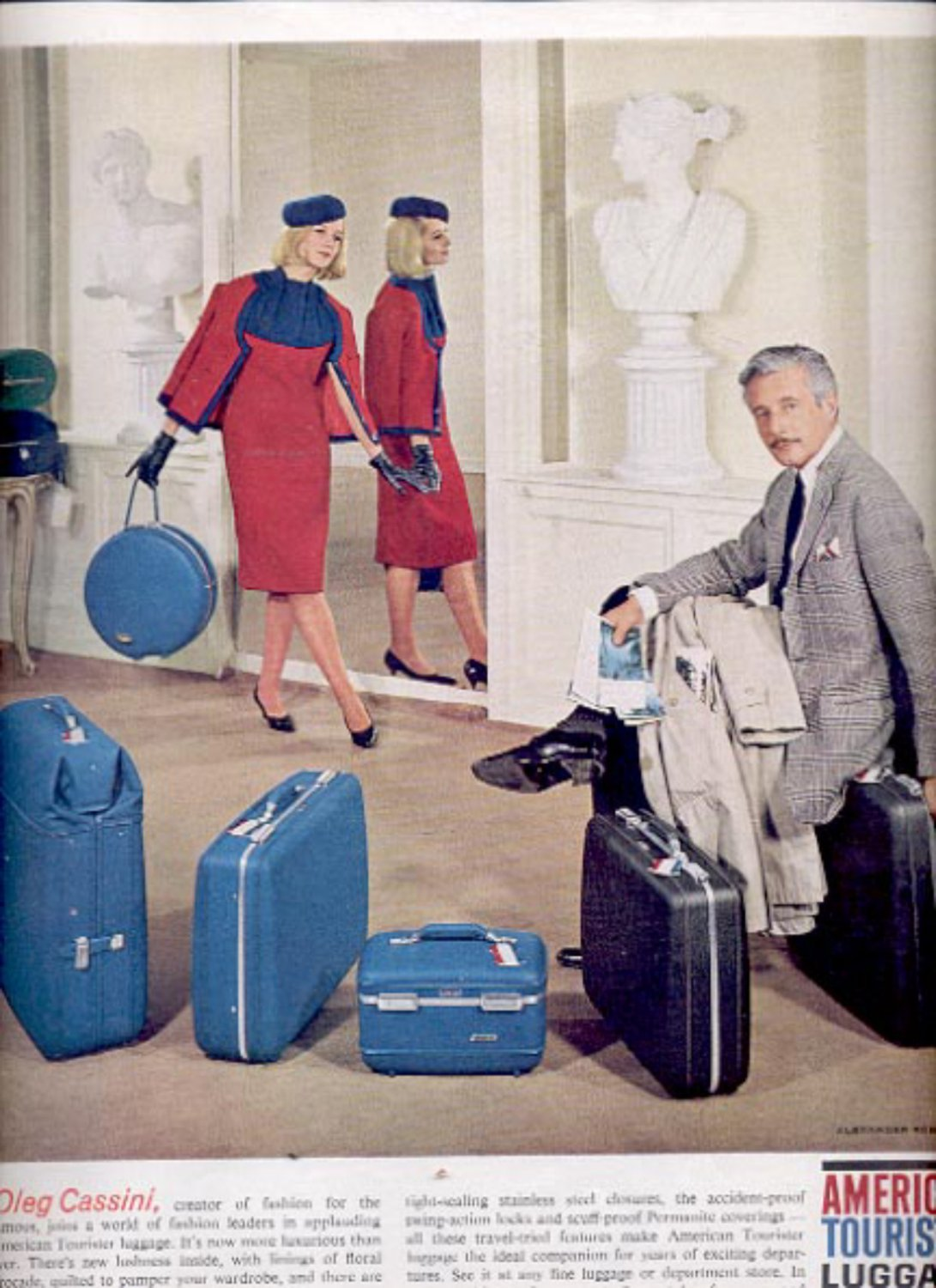 1963    American Tourister Luggage  ad (#5537)