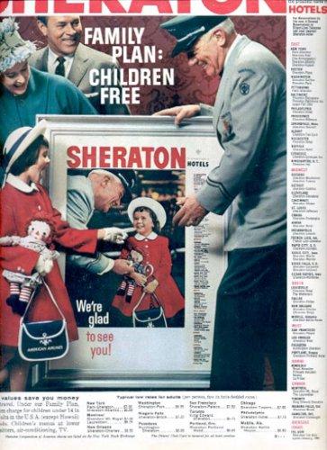 1960  Sheraton Hotels   ad (# 5303)