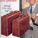 1953  Samsonite Luggage ad (# 1496)