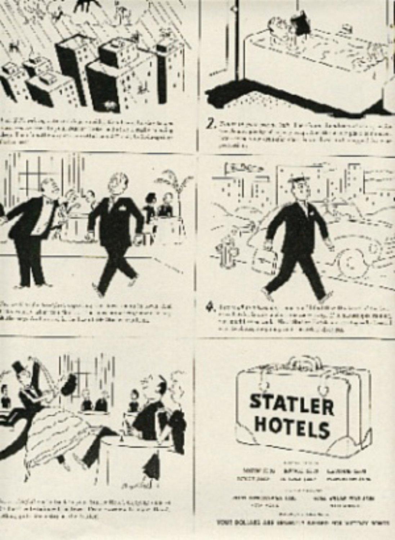 1946  Statler Hotels ad (#485)