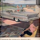 1957    Oldsmobile Starfire 98 Holiday Coupe  ad (# 5003)