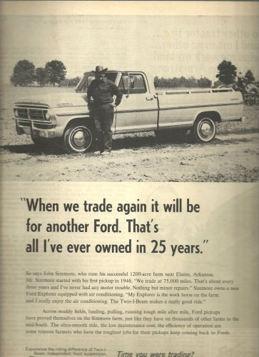 Aug. 1972 see your local Ford dealer   ad (#4027)