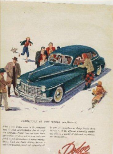 1947 ad of 1948 Dodge     (#221)