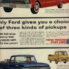 1962  Ford Trucks ad ( # 678)