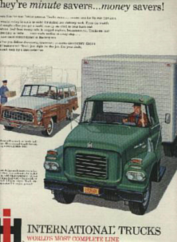1960  International Trucks magazine  ad ( # 639)