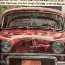 1962  Renault Dauphine ad ( # 1655)