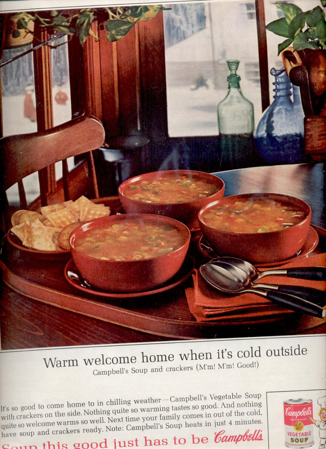 Jan. 18, 1964 Campbell's Soups magazine     ad (# 683)