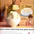 1964   Borden's Golden Vanilla ice Cream   ad (# 5265)
