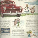 June 1947  There's a Ford in your future   ad  (#547)
