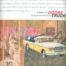 1960  Dodge Sweptline pick-up   ad (# 5313)