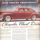 Oct. 21, 1940    Chrysler for 1941       ad  (#2906)