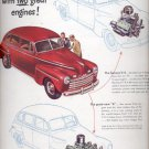 Feb. 17, 1947   Ford's out front   ad (#6236)