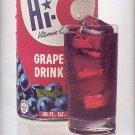 Nov. 13, 1970      Hi-C Drink   ad  (#1717)