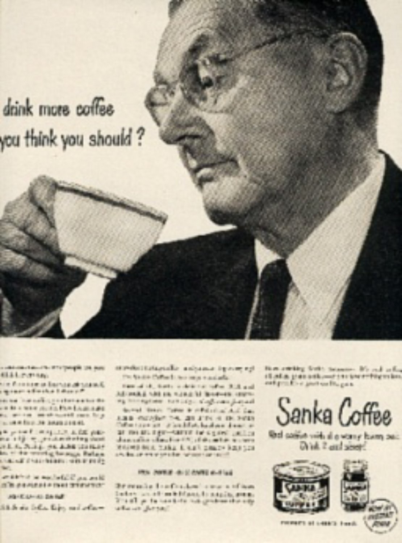 1949  Sanka   Coffee  magazine  ad (#616)