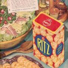 1946  Nabisco Ritz ad (# 2483)