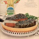 1963 Wesson Oil ad ( # 2413)