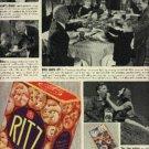 1937  Ritz Crackers ad  (# 1223)