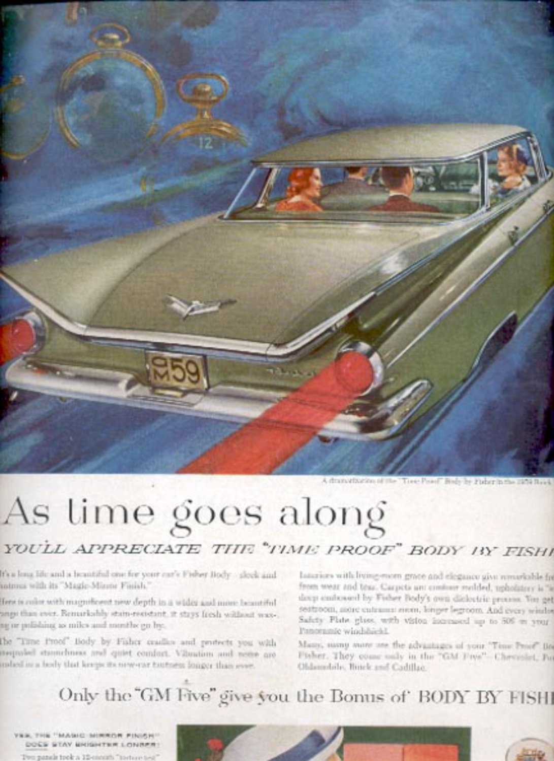 1959   Body by fisher in the 1959 Buick Electra  ad (#5571)