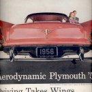 Dec. 13, 1955 Aerodynamic Plymouth '56  ad (# 802)