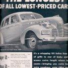 1940  Chevrolet Special De Luxe Sport Sedan     ad (#6008)