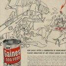 1955 Gaines Dog Food  ad (#1102)