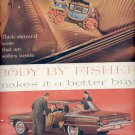 Dec. 1960   General Motors cars Body by Fisher  ad (#5788)