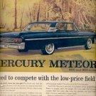 Dec. 1960   - 1961 Mercury Meteor 800  ad (#5791)
