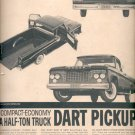 Dec. 1960   - Dodge  Dart Pickup for 1961  ad (#5755)