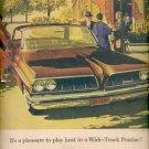 Dec. 1960  Wide- Track Pontiac 1961 Bonneville Vista   ad (#5752)