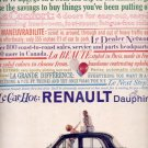 1959   Renault Dauphine   ad (#5570)