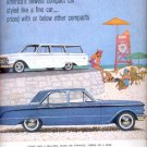 June 21, 1960  Comet-  Lincoln- Mercury Division of Ford Motor Company  ad (# 5289)