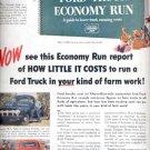 Nov. 1951 Ford truck  ad (#4333)