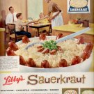 1960  Libby's Sauerkraut   ad (#5424)