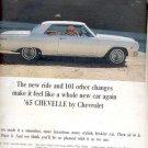 Nov. 3, 1964 -  -65 Chevelle by Chevrolet  ad (# 4512)