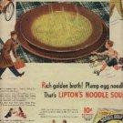 1944  Lipton's Noodle Soup ad  ( # 1351)