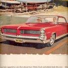Nov. 1963   -'64 Wide-Track Pontiac ad (# 4372)