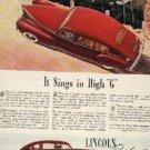 1941 Lincoln Zephyr V-12 ad (# 282)