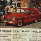 1959  English Ford Line ad (#852)