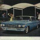 1960  Ninety-Eight Holiday Sport Sedan  Oldsmobile ad (# 545)