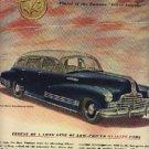 1946  Pontiac  Sedan ad (# 1000)