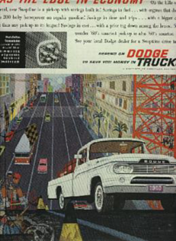1960 Dodge    Trucks  ad (# 1331)