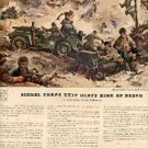 1943  Willys Jeeps  ad (# 3143)