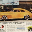 1941 Oldsmobile with hydra-matic drive ad(#140)
