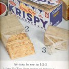 1961  Sunshine Krispy Saltine Crackers  ad (#4061)