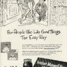 1948 Maxwell House Coffee ad  ( # 614)