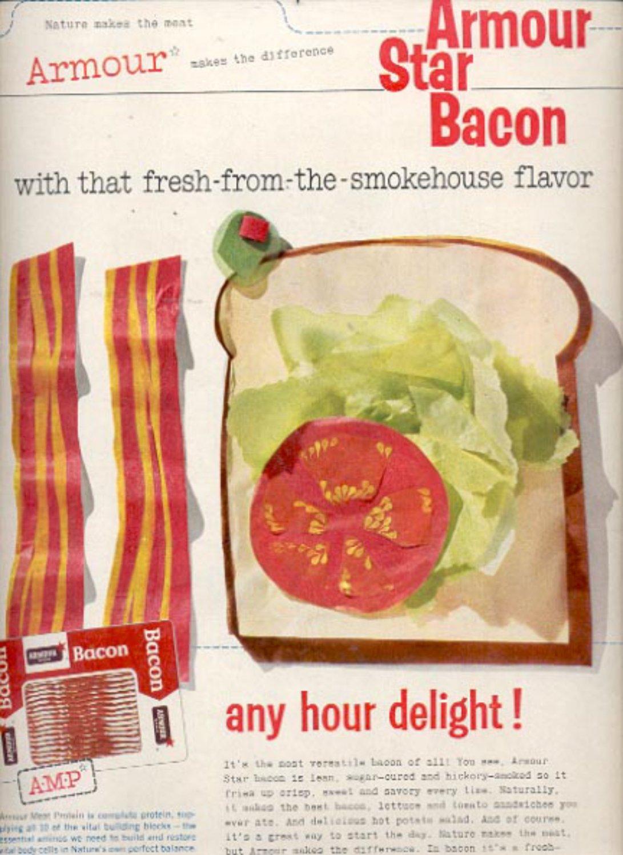 1960  Armour Star Bacon   ad (#5425)