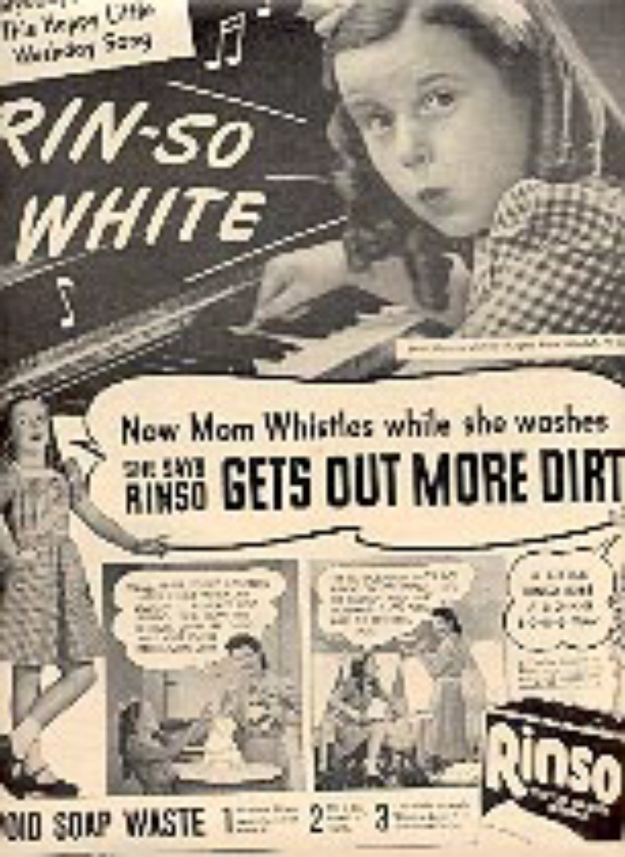 1944  Rinso magazine  ad ( # 3069)