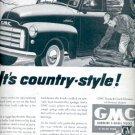 Nov. 1951  GMC gasoline & Diesel Trucks  ad (# 4341)